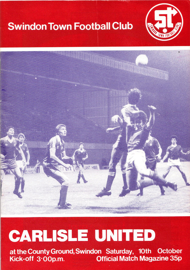 <b>Saturday, October 10, 1981</b><br />vs. Carlisle United (Home)