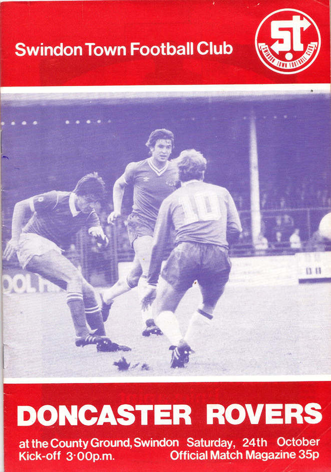 <b>Saturday, October 24, 1981</b><br />vs. Doncaster Rovers (Home)