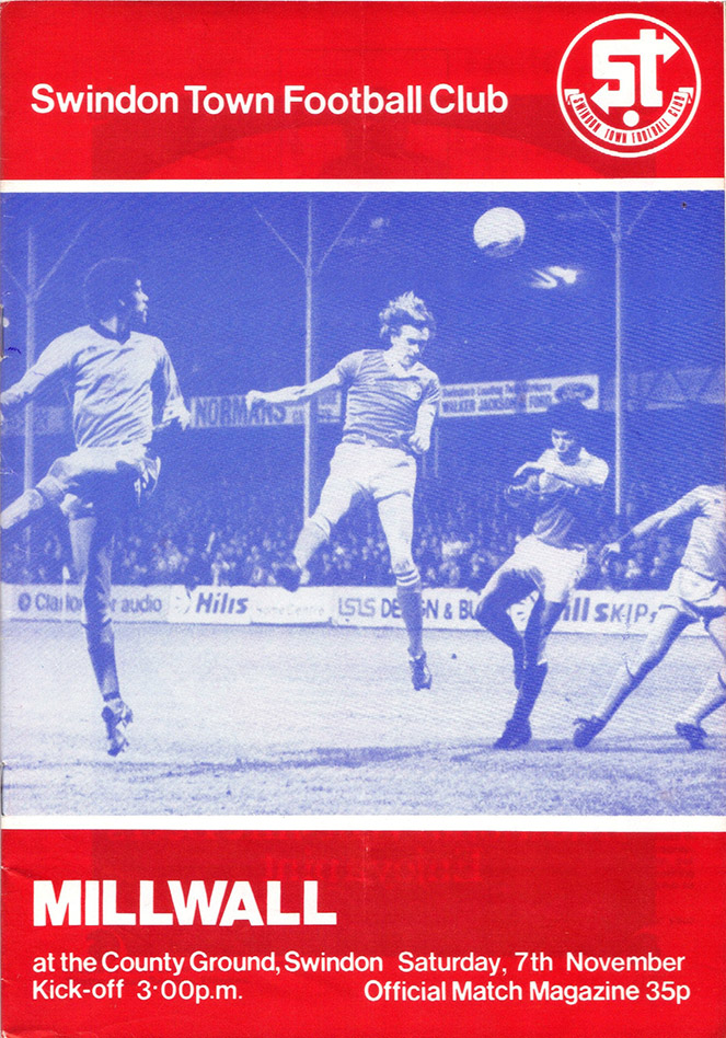 <b>Saturday, November 7, 1981</b><br />vs. Millwall (Home)