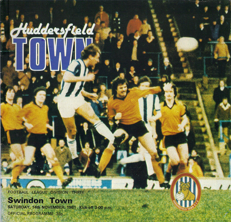 <b>Saturday, November 14, 1981</b><br />vs. Huddersfield Town (Away)