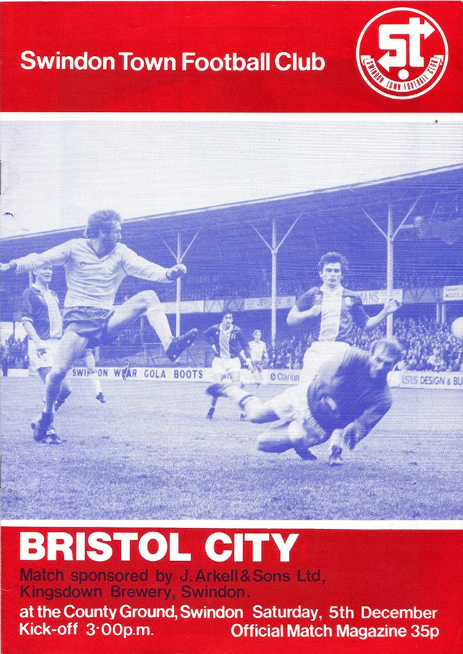 <b>Saturday, December 5, 1981</b><br />vs. Bristol City (Home)