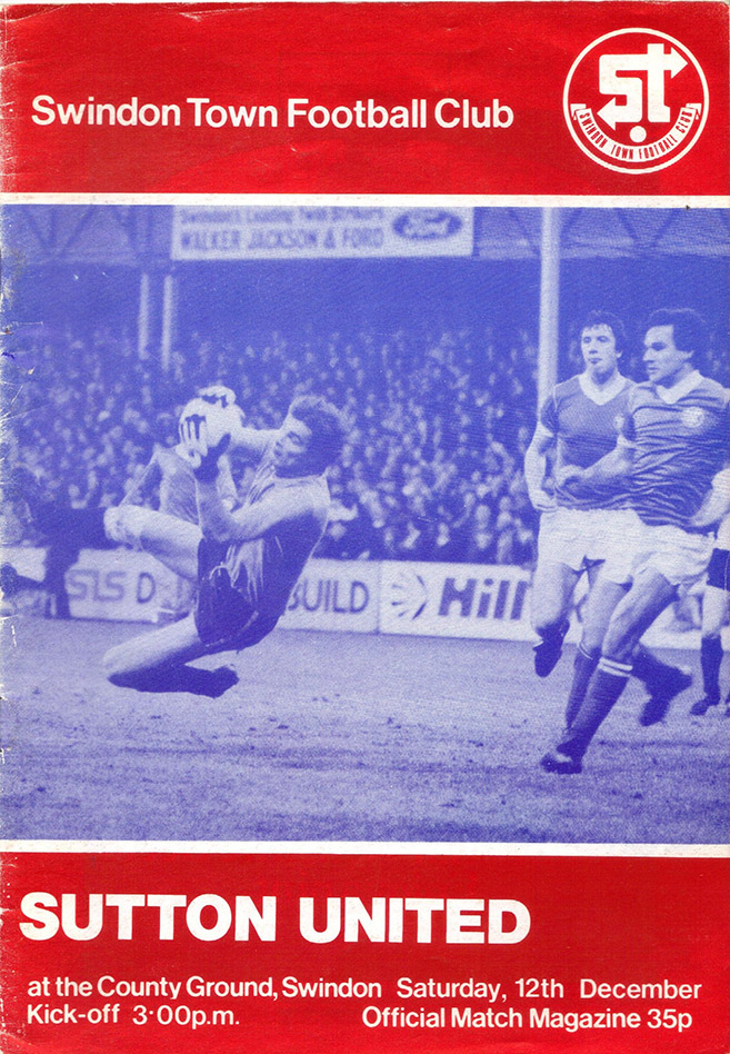 <b>Tuesday, December 15, 1981</b><br />vs. Sutton United (Home)