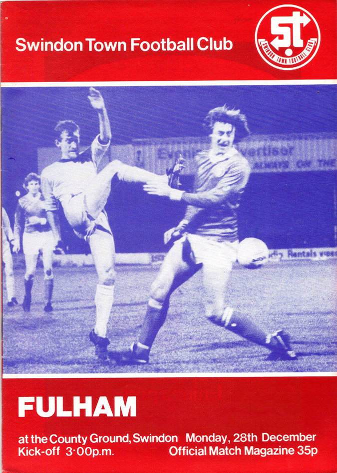 <b>Wednesday, December 30, 1981</b><br />vs. Fulham (Home)