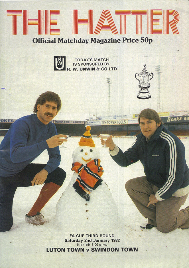 <b>Saturday, January 2, 1982</b><br />vs. Luton Town (Away)