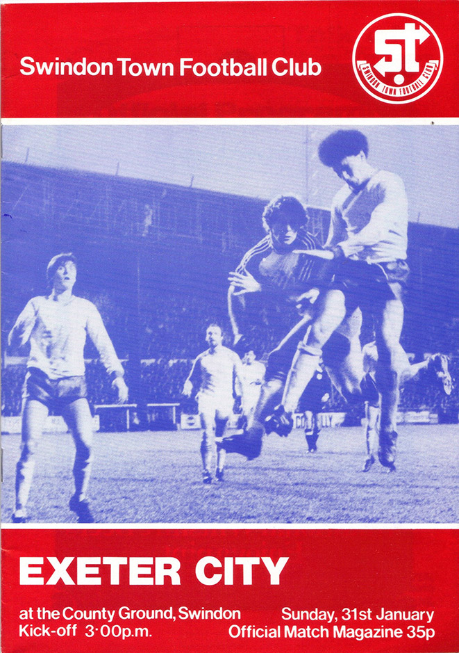 <b>Sunday, January 31, 1982</b><br />vs. Exeter City (Home)