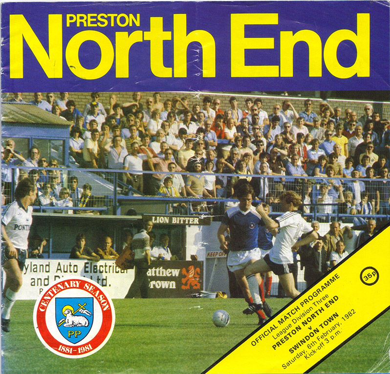 <b>Saturday, February 6, 1982</b><br />vs. Preston North End (Away)
