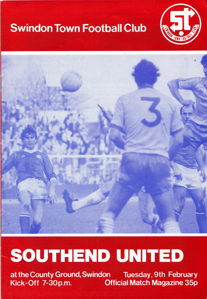 <b>Tuesday, February 9, 1982</b><br />vs. Southend United (Home)