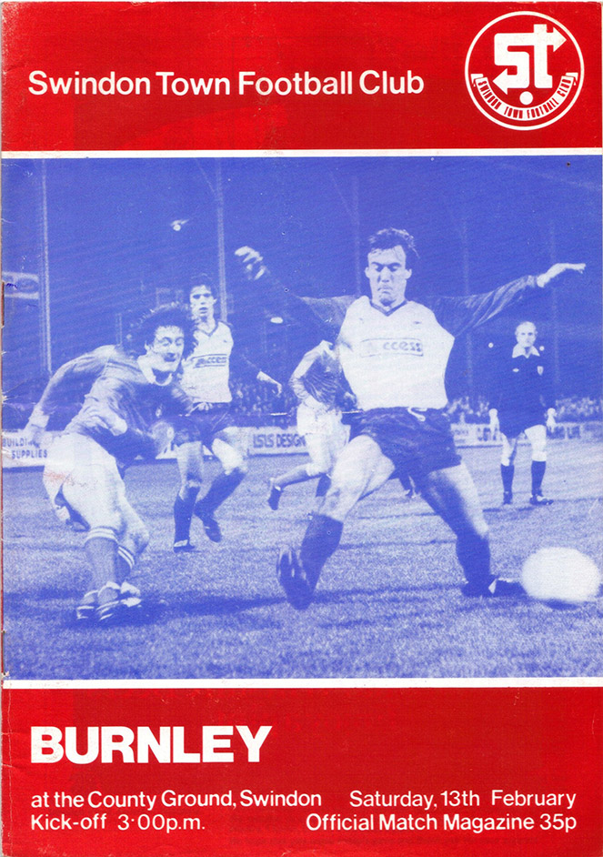 <b>Saturday, February 13, 1982</b><br />vs. Burnley (Home)