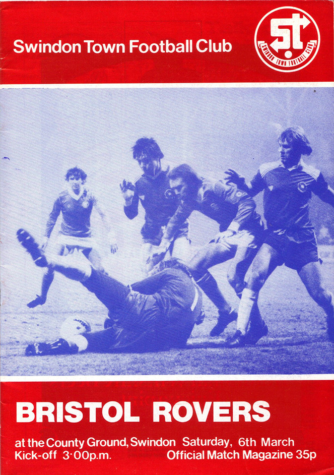 <b>Saturday, March 6, 1982</b><br />vs. Bristol Rovers (Home)