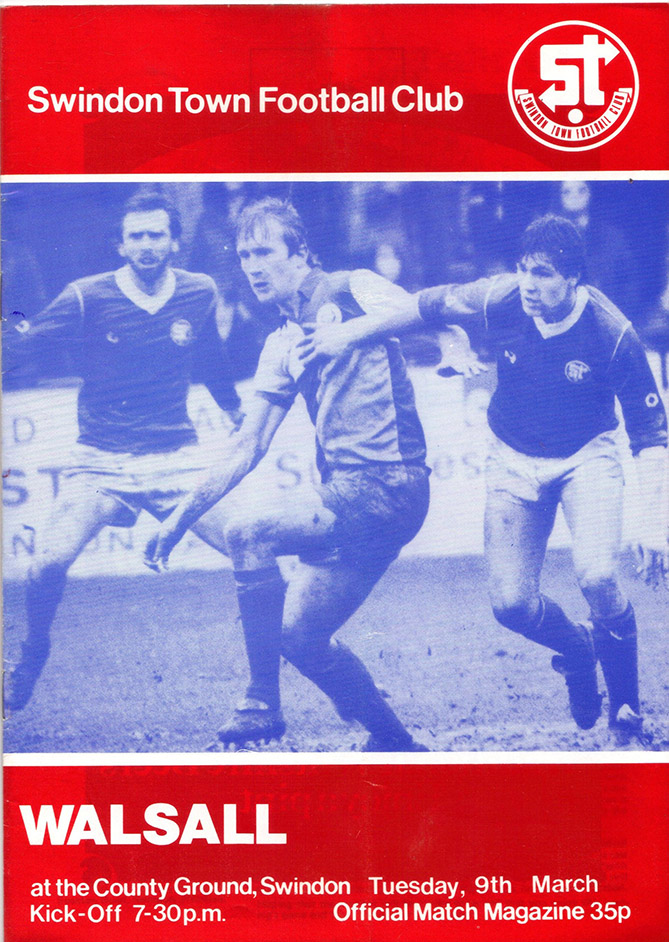 <b>Tuesday, March 9, 1982</b><br />vs. Walsall (Home)