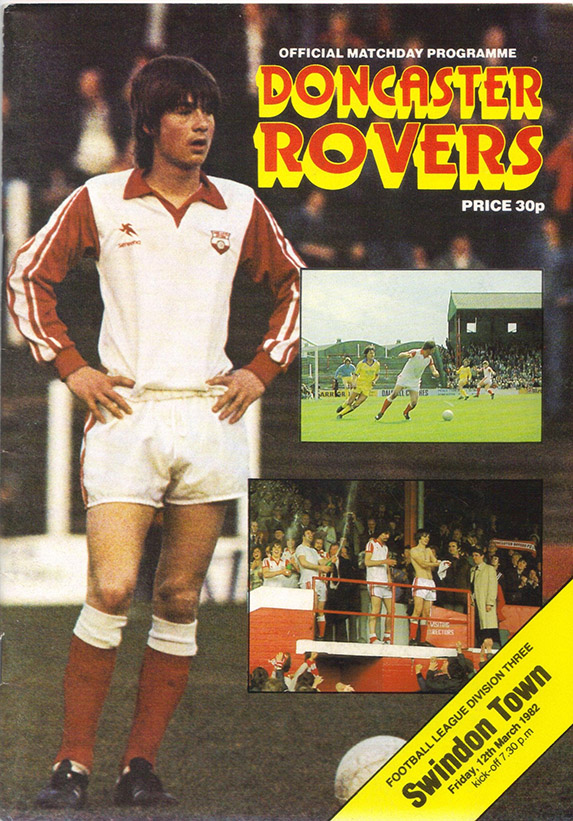 <b>Friday, March 12, 1982</b><br />vs. Doncaster Rovers (Away)