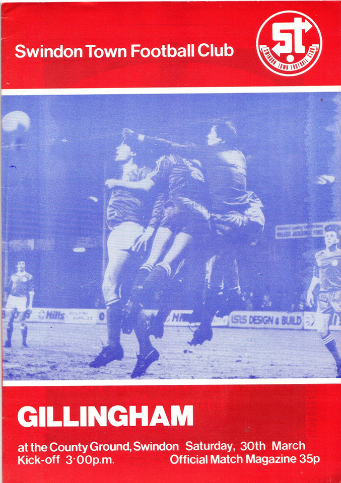 <b>Saturday, March 20, 1982</b><br />vs. Gillingham (Home)