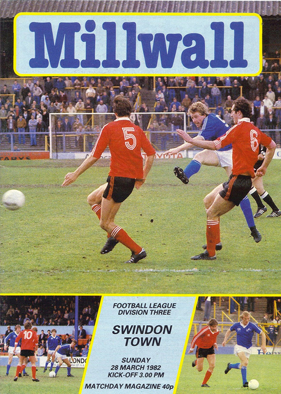 <b>Sunday, March 28, 1982</b><br />vs. Millwall (Away)