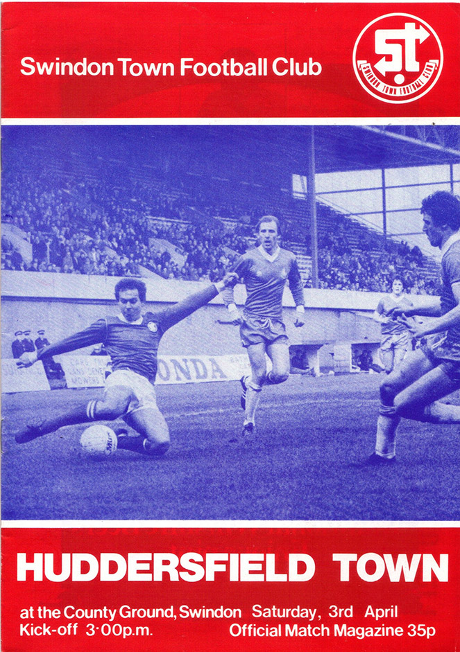 <b>Saturday, April 3, 1982</b><br />vs. Huddersfield Town (Home)