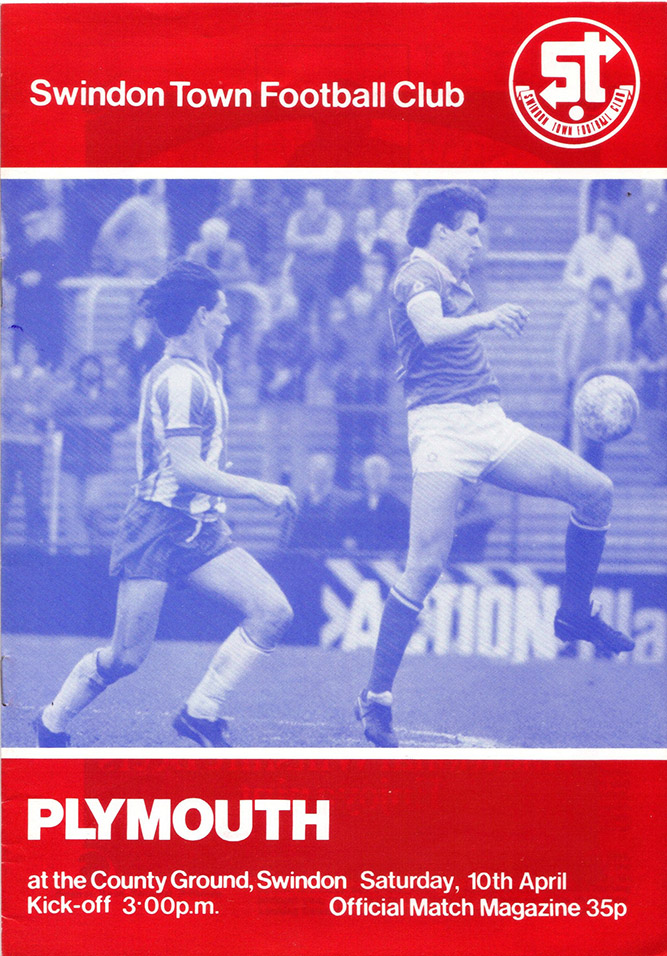 <b>Saturday, April 10, 1982</b><br />vs. Plymouth Argyle (Home)