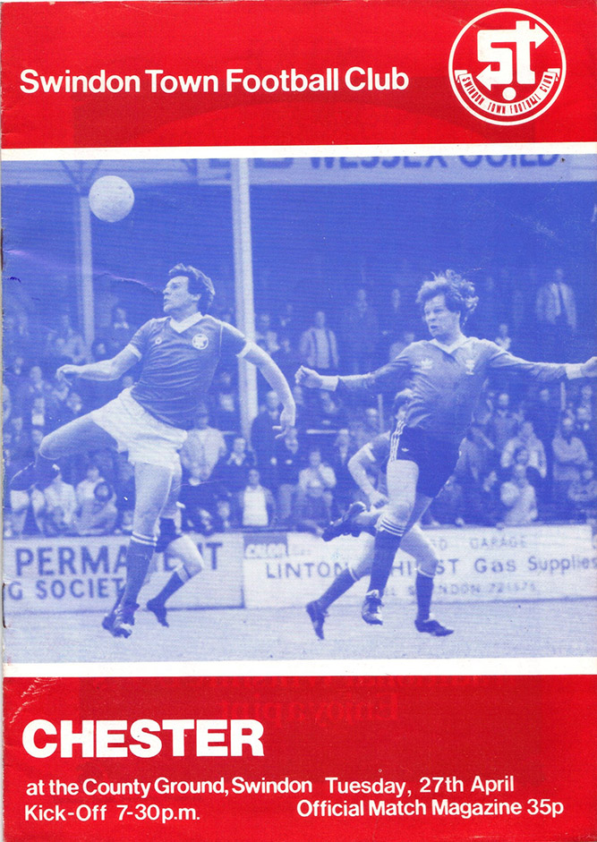 <b>Tuesday, April 27, 1982</b><br />vs. Chester (Home)