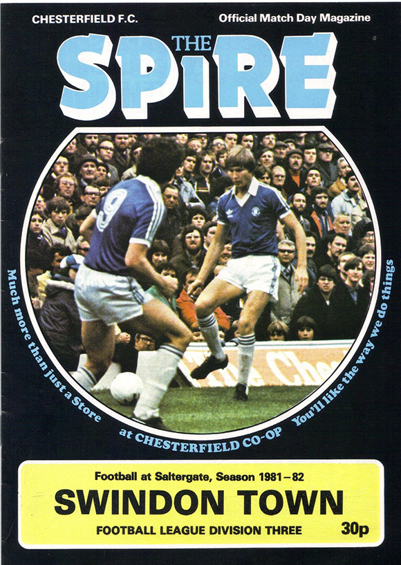 <b>Saturday, May 1, 1982</b><br />vs. Chesterfield (Away)