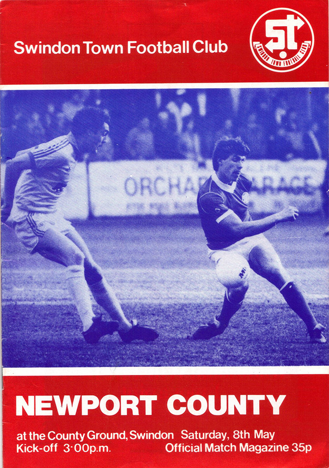 <b>Saturday, May 8, 1982</b><br />vs. Newport County (Home)