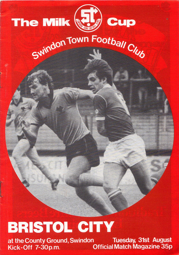 Tuesday, August 31, 1982 - vs. Bristol City (Home)