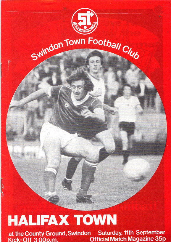 Saturday, September 11, 1982 - vs. Halifax Town (Home)