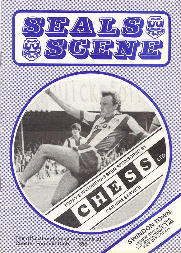 Saturday, October 30, 1982 - vs. Chester (Away)