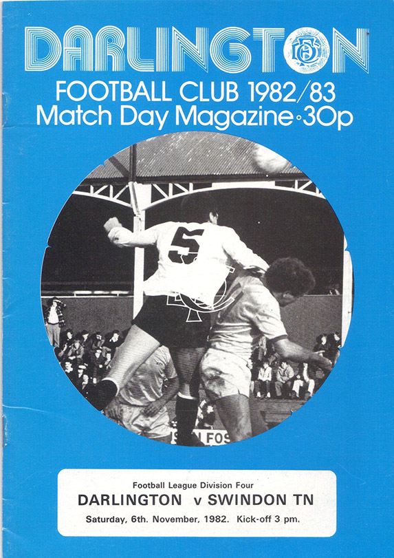 Saturday, November 6, 1982 - vs. Darlington (Away)
