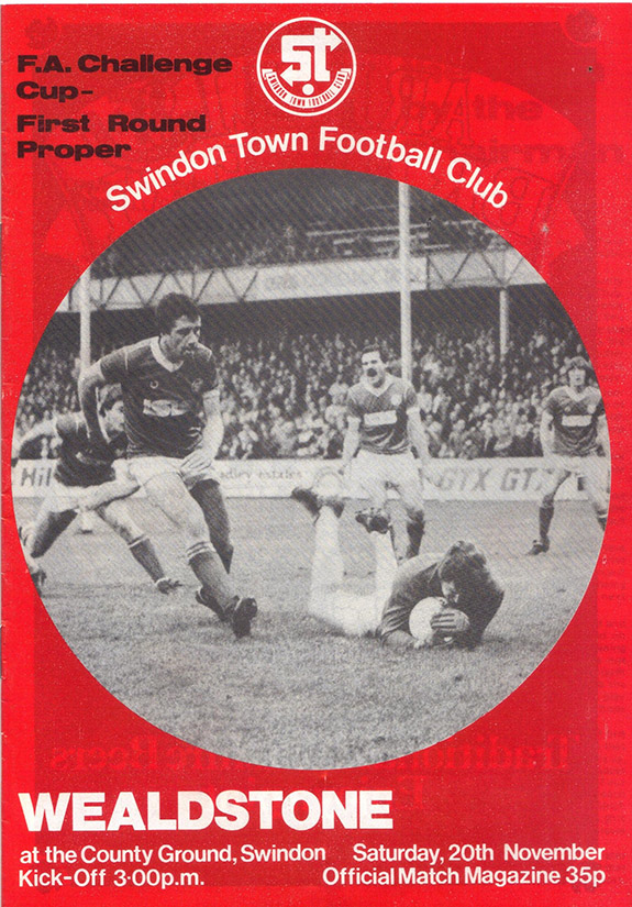Saturday, November 20, 1982 - vs. Wealdstone (Home)