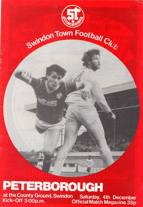 Saturday, December 4, 1982 - vs. Peterborough United (Home)