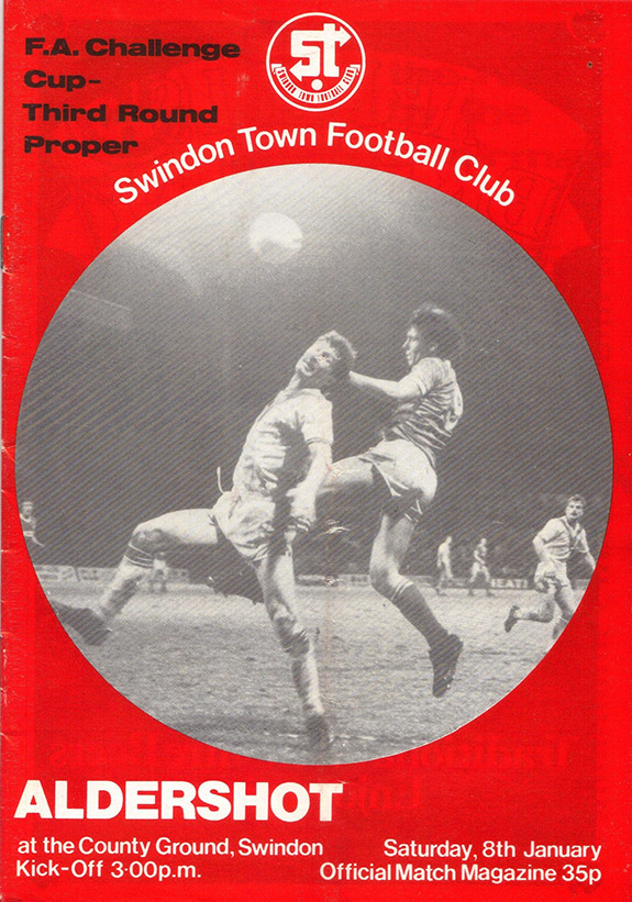 Saturday, January 8, 1983 - vs. Aldershot (Home)
