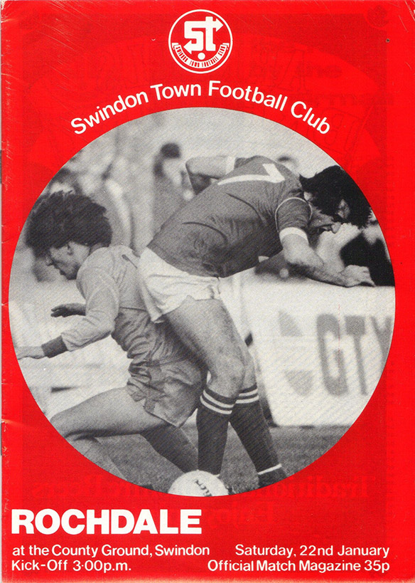 Saturday, January 22, 1983 - vs. Rochdale (Home)