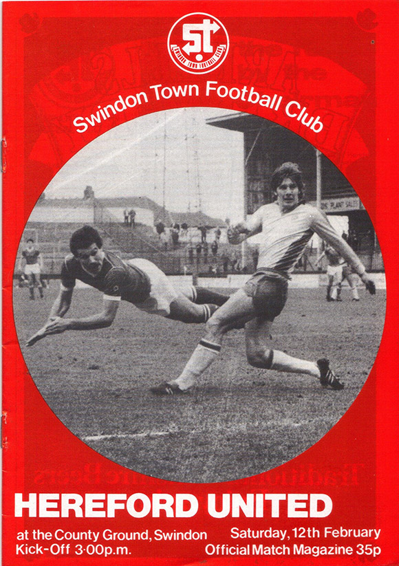 Saturday, February 12, 1983 - vs. Hereford United (Home)
