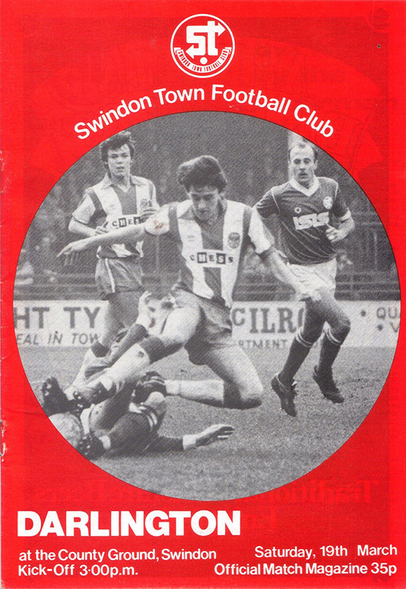 Saturday, March 19, 1983 - vs. Darlington (Home)