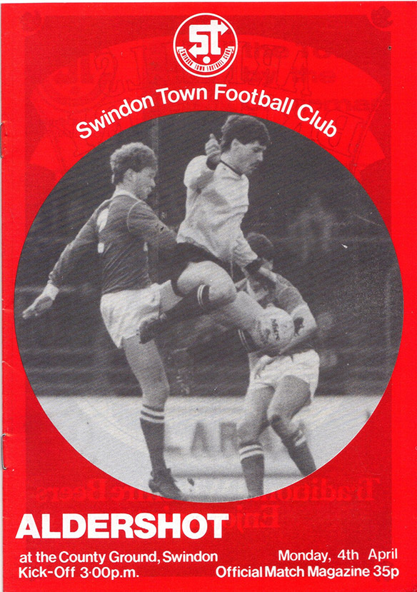 Monday, April 4, 1983 - vs. Aldershot (Home)