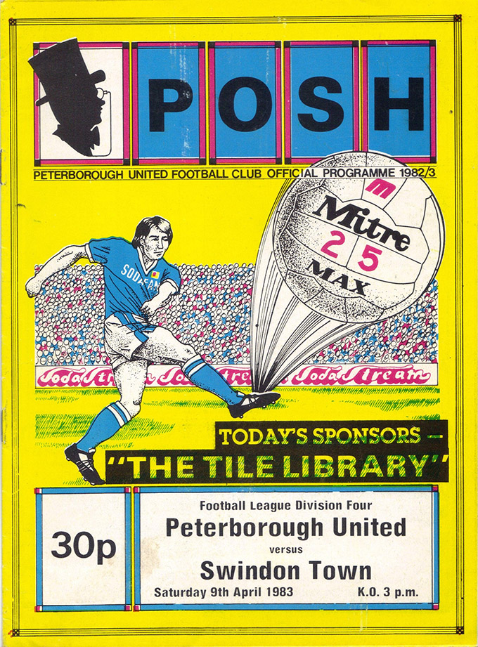 Saturday, April 9, 1983 - vs. Peterborough United (Away)
