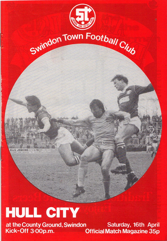 Saturday, April 16, 1983 - vs. Hull City (Home)