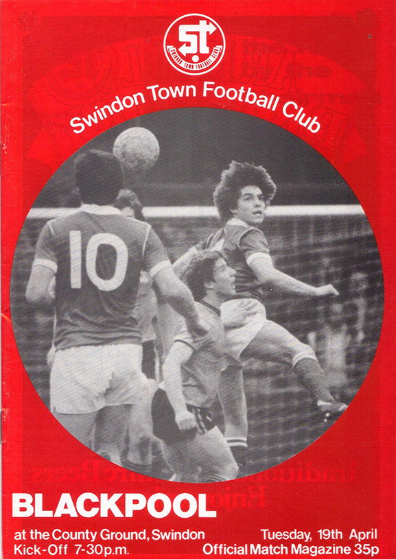 Tuesday, April 19, 1983 - vs. Blackpool (Home)