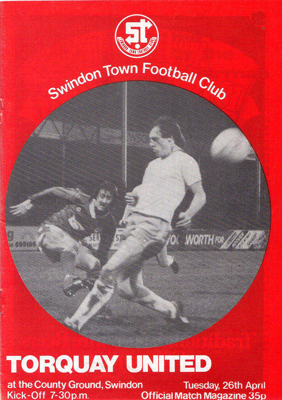 Tuesday, April 26, 1983 - vs. Torquay United (Home)
