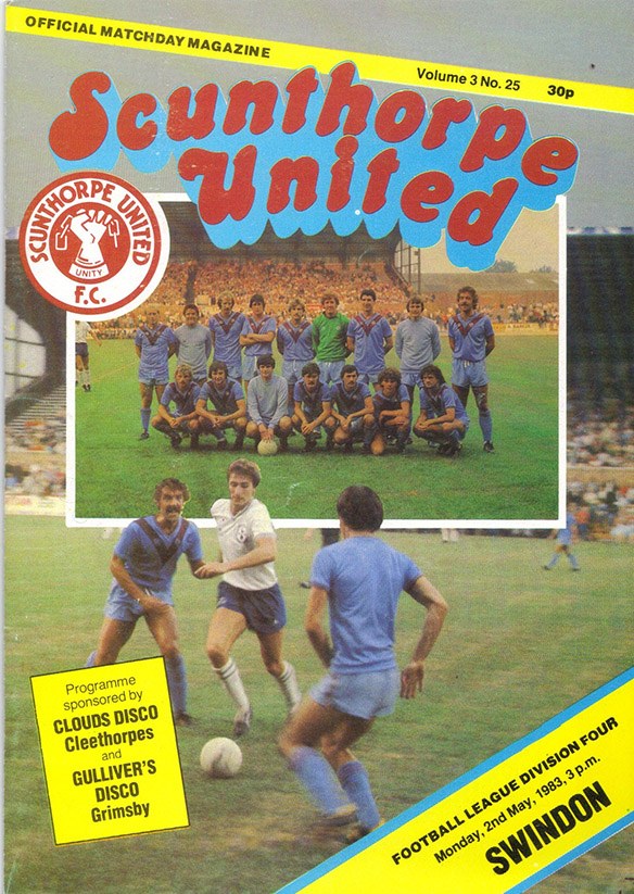 Monday, May 2, 1983 - vs. Scunthorpe United (Away)