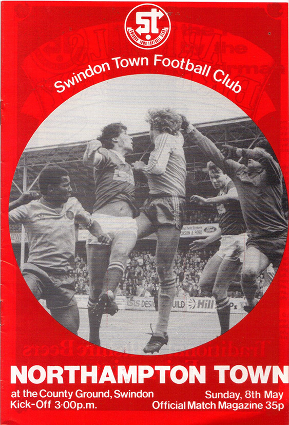 Sunday, May 8, 1983 - vs. Northampton Town (Home)