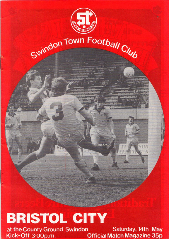 Saturday, May 14, 1983 - vs. Bristol City (Home)