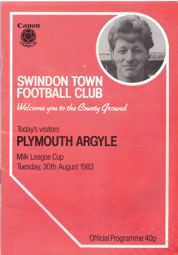 Tuesday, August 30, 1983 - vs. Plymouth Argyle (Home)