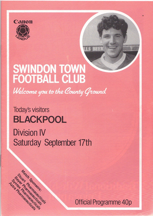 Saturday, September 17, 1983 - vs. Blackpool (Home)