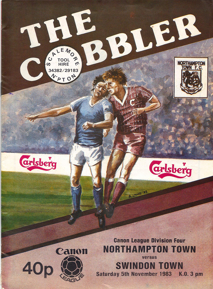 Saturday, November 5, 1983 - vs. Northampton Town (Away)
