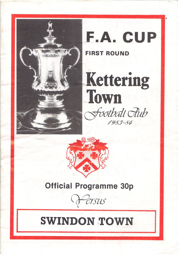 Saturday, November 19, 1983 - vs. Kettering Town (Away)