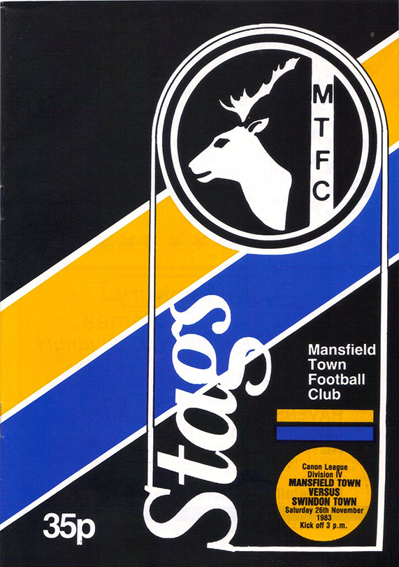 Saturday, November 26, 1983 - vs. Mansfield Town (Away)