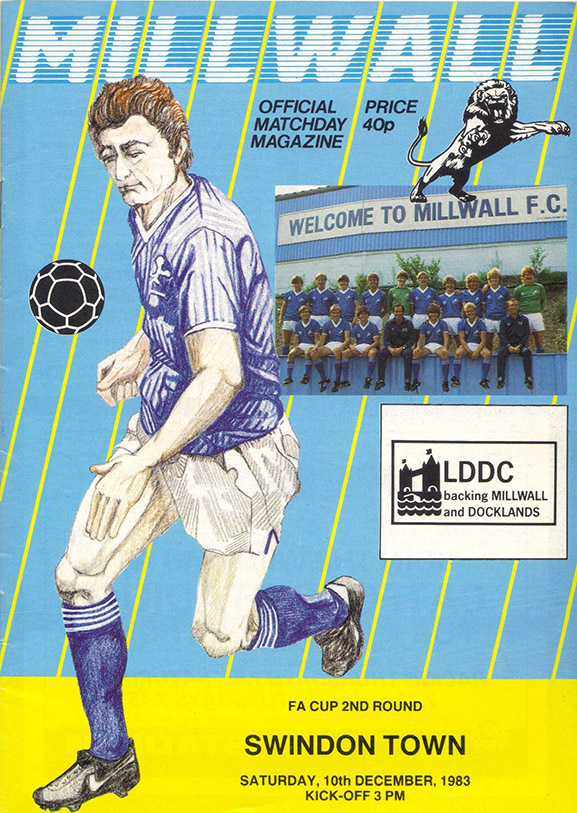 Saturday, December 10, 1983 - vs. Millwall (Away)
