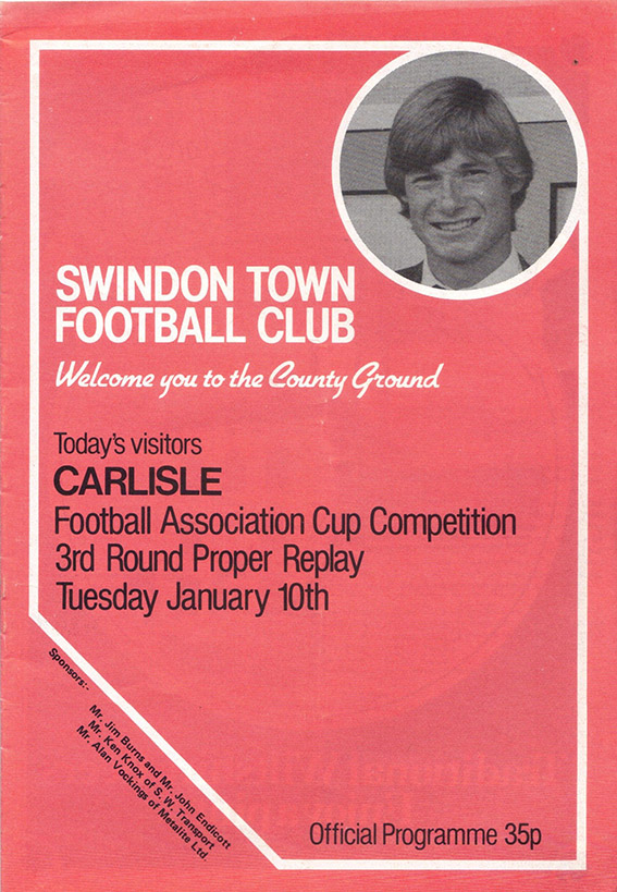 Tuesday, January 10, 1984 - vs. Carlisle United (Home)