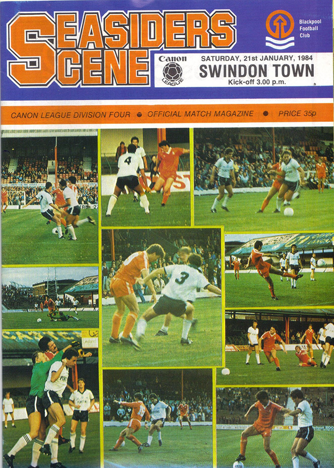 Saturday, January 21, 1984 - vs. Blackpool (Away)