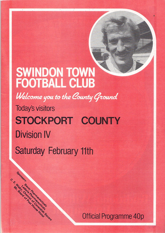 Saturday, February 11, 1984 - vs. Stockport County (Home)