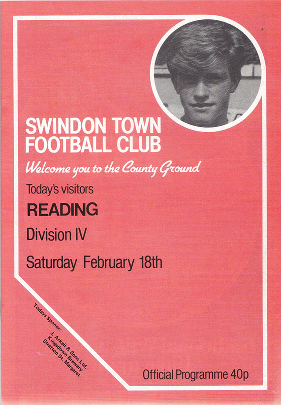 Saturday, February 18, 1984 - vs. Reading (Home)